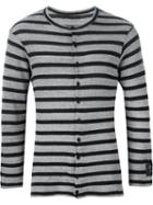 Yohji Yamamoto Striped Cardigan