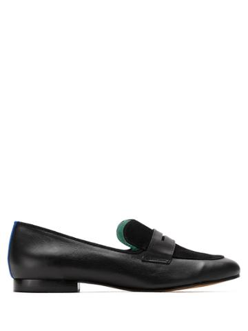 Blue Bird Shoes Loafer Boyish Heart - Black