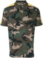 Valentino Camouflage Polo Shirt - Green