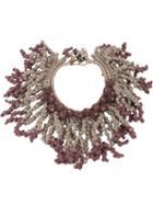 Afroditi Hera Lava Beads Necklace