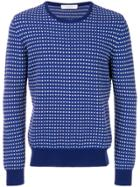Cruciani Long Sleeved Sweater - Blue