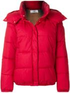 Closed Padded Jacket - Red