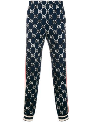 Gucci Gucci Supreme Sweatpants - Blue