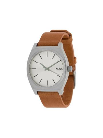 Nixon Time Teller Watch - Brown