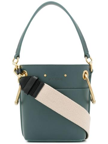 Chloé Roy Bucket Bag - Blue