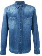 Dolce & Gabbana Washed Effect Denim Shirt