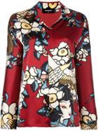 Dsquared2 'cherry Blossom' Pyjama Shirt