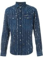 Diesel Distressed Denim Shirt