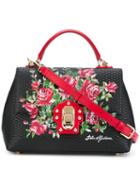 Lucia Tote - Women - Leather - One Size, Black, Leather, Dolce & Gabbana