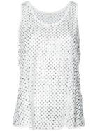 Marc Jacobs Sleeveless Blouse - White