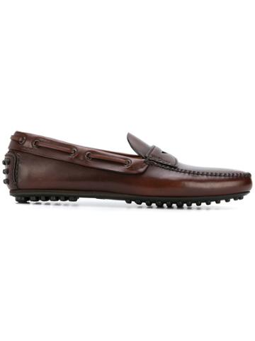 Car Shoe Driving Shoes - Brown