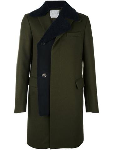 Sacai Shearling Layer Coat
