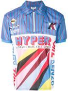 Kenzo Front Printed Polo Shirt - Multicolour