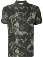 Etro Printed Polo Shirt - Grey