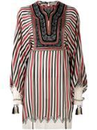 Etro - Printed Dress - Women - Silk/cotton/acrylic/metallic Fibre - 44, Black, Silk/cotton/acrylic/metallic Fibre