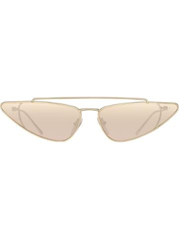 Prada Eyewear Ultravox Eyewear Sunglasses - Metallic