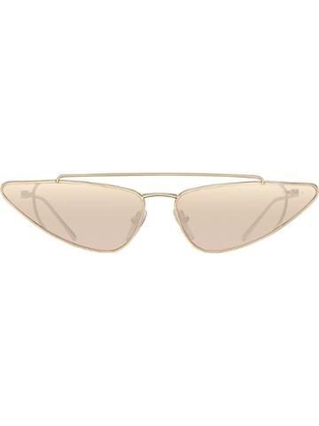 Prada Eyewear Ultravox Eyewear Sunglasses - Metallic