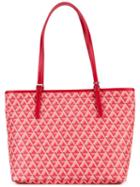 Lancaster - Ikon Tote - Women - Leather - One Size, Red, Leather