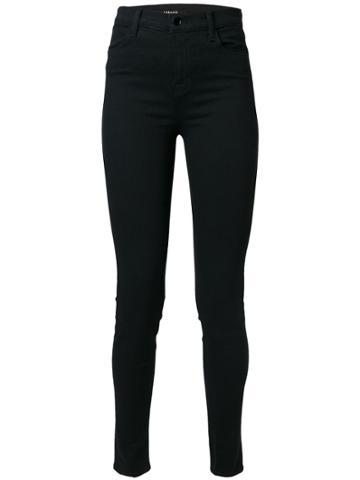 J Brand High-rise Jeans - Black