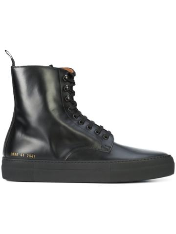 Common Projects Common Projects X Robert Geller Smooth Lace Up