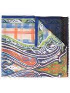 Etro Printed Scarf, Silk/cashmere