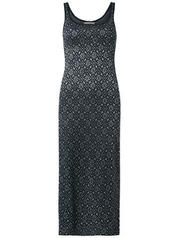 Cecilia Prado - Knit Midi Dress - Women - Viscose/acrylic/lurex - P, Black, Viscose/acrylic/lurex