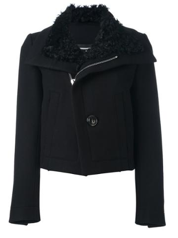 Dsquared2 Shearling Collar Jacket
