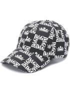 Dolce & Gabbana Dg Baseball Cap - Black