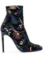 Giuseppe Zanotti Design Celeste Shanghai Booties - Black