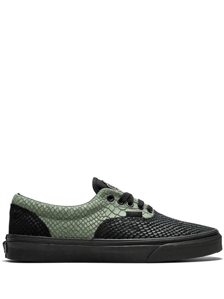 Vans X Harry Potter Slytherin Era Sneakers - Black