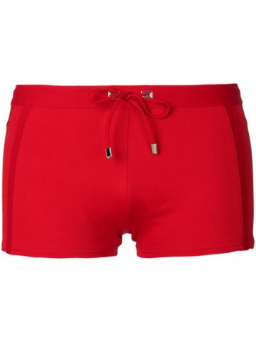 La Perla Gentlemans Club Swim Shorts - Red