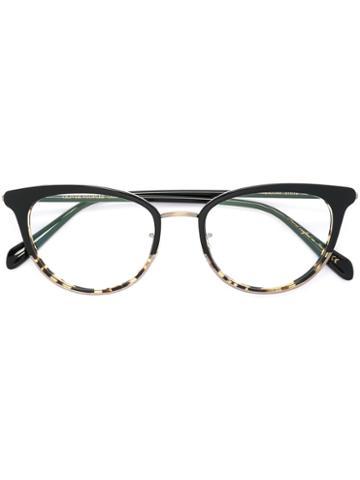 Oliver Peoples Theadora Glasses, Black, Acetate/metal