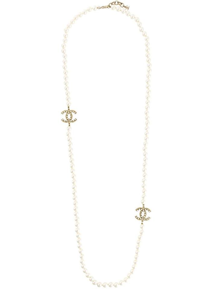 Chanel Vintage Faux Necklace, Women's