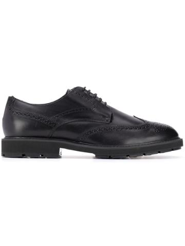 Tod's Lined Oxford Brogues - Black