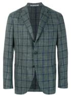 Cantarelli Plaid Blazer - Green