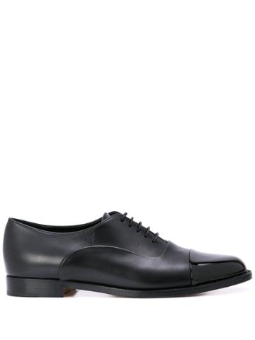 Manolo Blahnik Rodita Oxford Shoes - Black