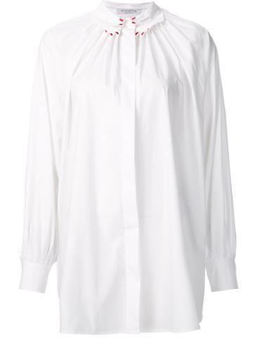 Vivetta 'vivetta' Shirt, Women's, Size: 38, White, Cotton/spandex/elastane