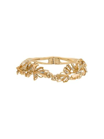 Christian Lacroix Pre-owned Leaves Motif Choker - Gold