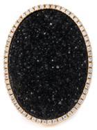 Karolin Oval Stone Cocktail Ring