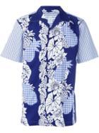 Comme Des Garçons Shirt Mixed Print Shirt