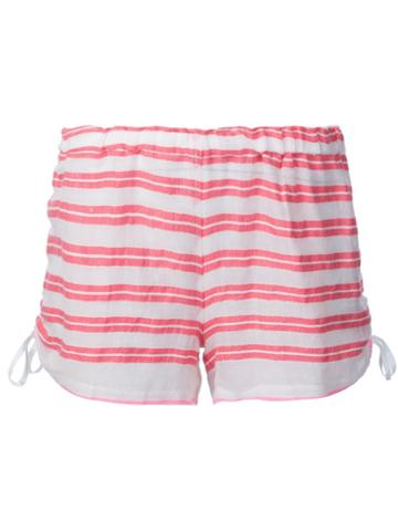 Lemlem Striped Short Shorts