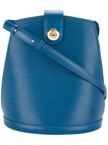 Louis Vuitton Vintage Epi Cluny Shoulder Bag - Blue