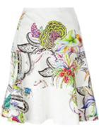 Etro Floral Print A-line Skirt