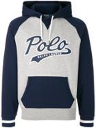 Polo Ralph Lauren Printed Logo Hoodie - Grey