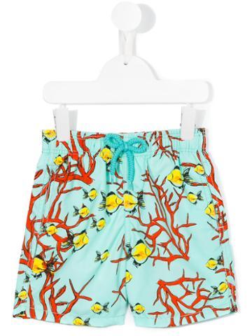 Vilebrequin Kids Print Swim Shorts, Toddler Boy's, Size: 4 Yrs, Blue