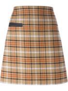 Tory Burch Plaid Skirt