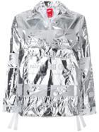 Nike Metallic Logo Print Jacket