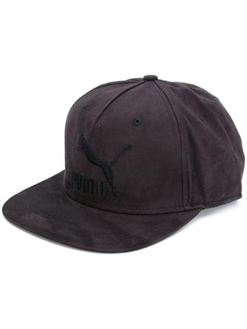 Puma Logo Baseball Cap - Black