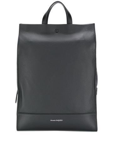 Alexander Mcqueen Tote Backpack - Black