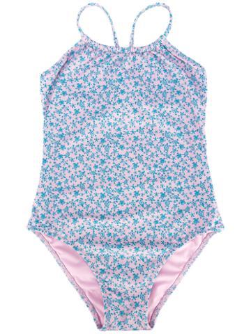 Vilebrequin Kids Turtle Print Swimsuit, Girl's, Size: 6 Yrs, Pink/purple
